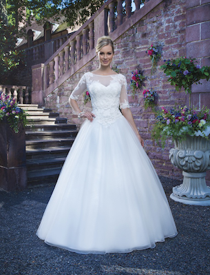 Try Me Buy Me plus size wedding gowns Bridal Boutique, Swindon